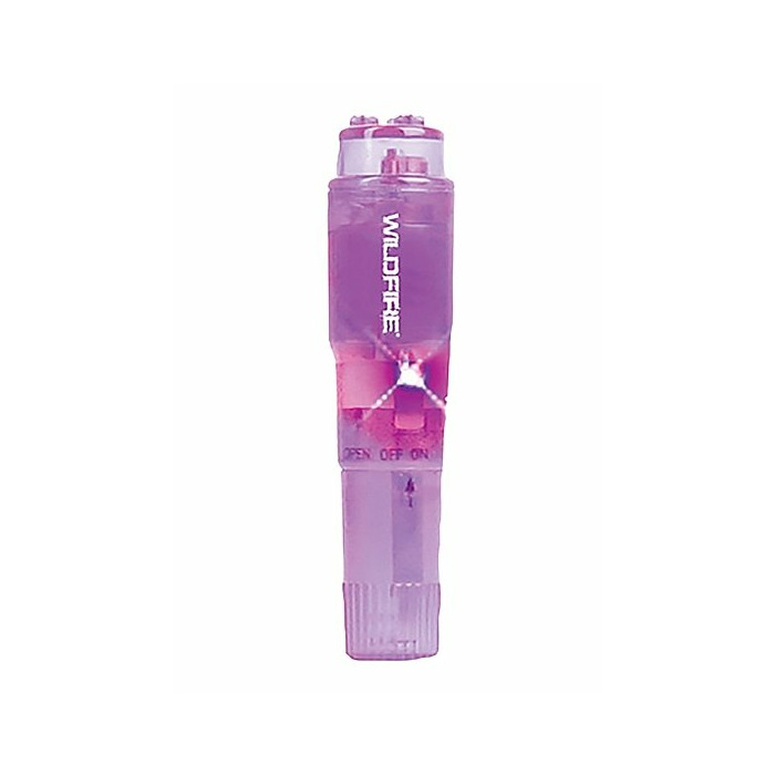 Wildfire Rock-In Waterproof Massager - Bright Purple
